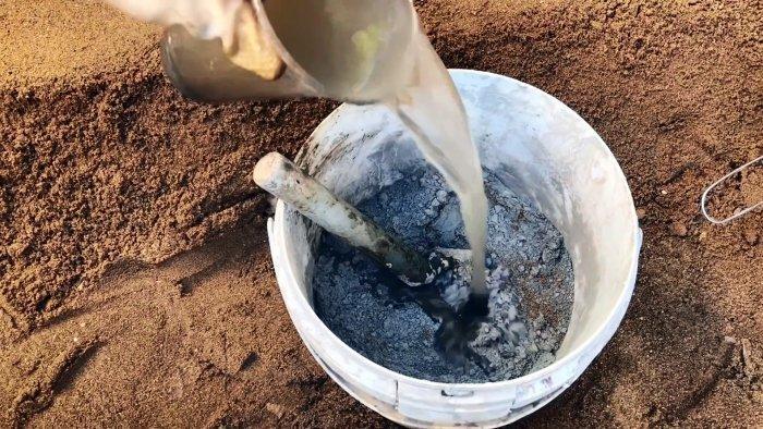 Как подкрасить цементный раствор что называется удобоукладываемостью бетонной смеси